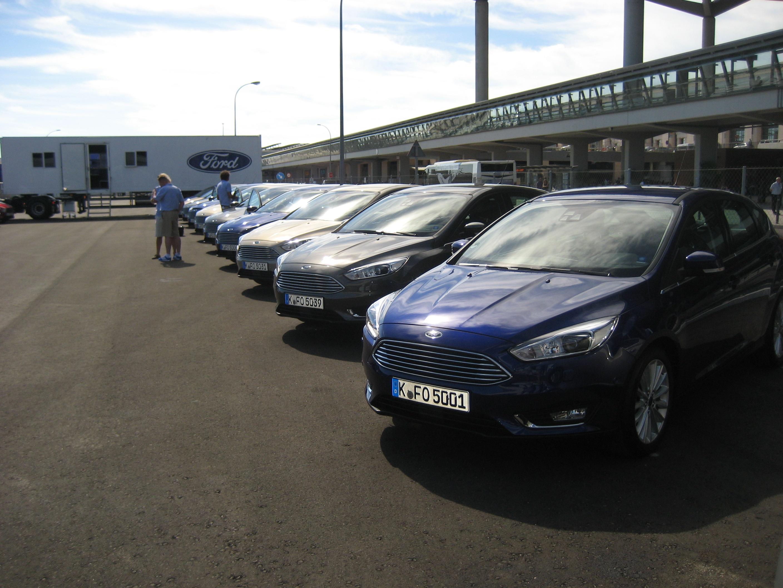 Presse- und Händlerpräsentationen für Ford in Málaga